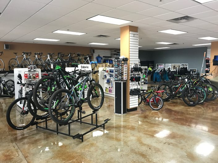 Southwest CycleSport has many, many mountain and road bikes to choose from