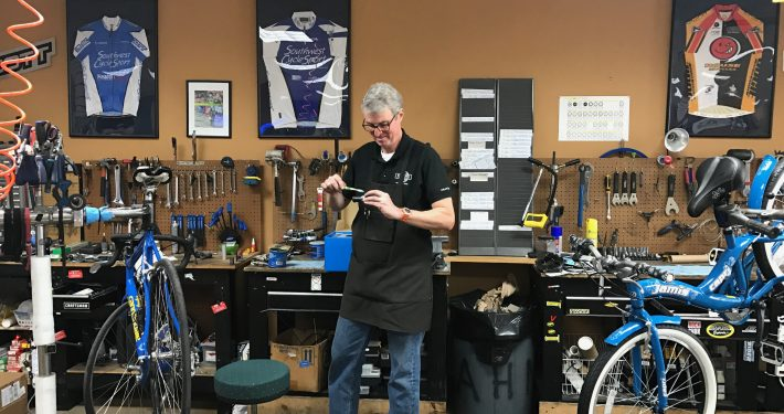 Southwest CycleSport offers full-service bicycle repairs to our Austin cyclists