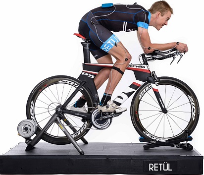 Retül's three-dimensional motion capture technology allows for an optimal bike fit
